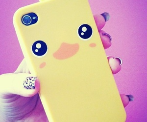 case, iphone, and duck image