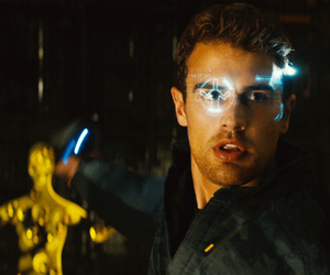 theo james, allegiant, and divergent image