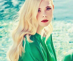 Elle Fanning, actress, and blonde image