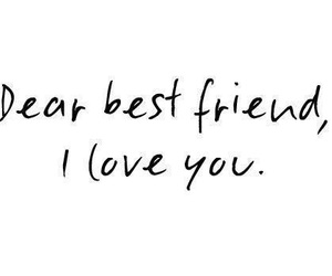 love, best friends, and friends image