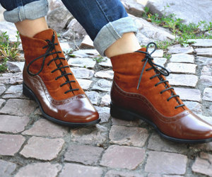 etsy, handmade boots, and womens ankle boots image