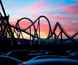 fun, sunset, and sky image