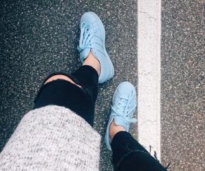 adidas, blue, and pants image