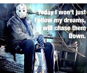 friday the 13th, jason, and life goals image