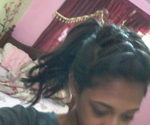 braided, hairstyle, and hair image