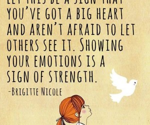 quotes, sensitive, and emotions image