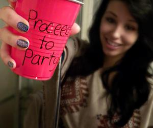 party and red solo cup image