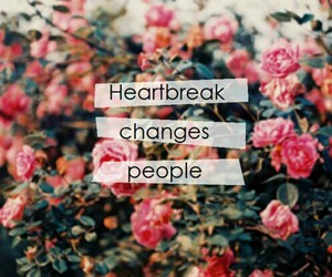 change, heartbreak, and people image