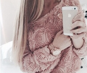 fashion, pink, and iphone image