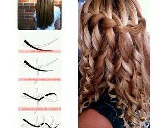 hair, diy, and tutorial image