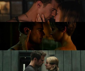 couple, divergent, and theo james image