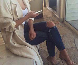 heels, iphone, and cristian louboutin image