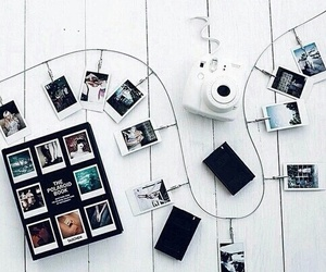 black and white, cool, and idea image
