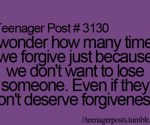 forgive and teenager post image
