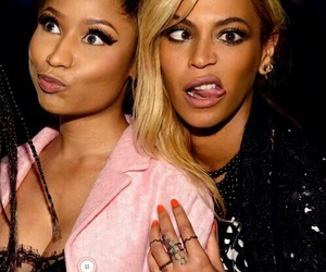 beyoncé, nicki minaj, and alicia keys image