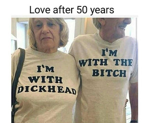 couple, love, and funny image