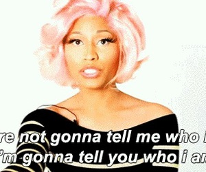 nicki minaj, quotes, and gif image
