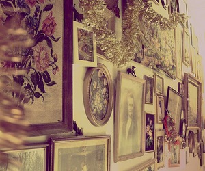 vintage and wall image