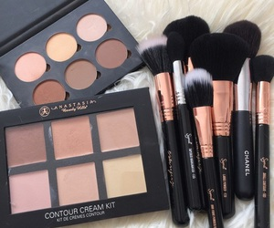makeup, beauty, and Brushes image