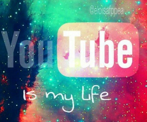 galaxy and youtube . image