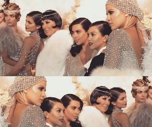 Kendall, kardashian, and khloe image