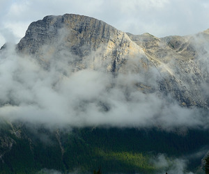 cloud, mountain, and landscape image