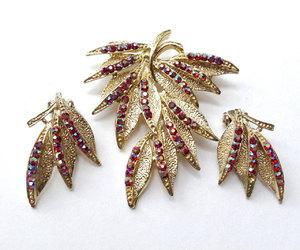 etsy, jewelry set, and rhinestone jewelry image