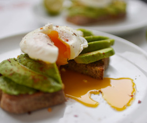 avocado, egg, and healthy image