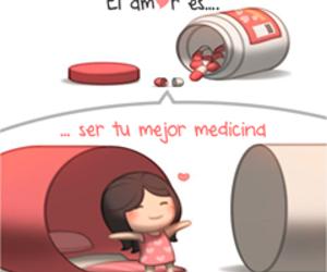 love, pareja, and amor es image