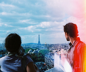 paris, couple, and boy image