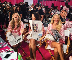 Behati Prinsloo, Lily Aldridge, and model image