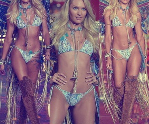 candice swanepoel, angel, and beautiful image