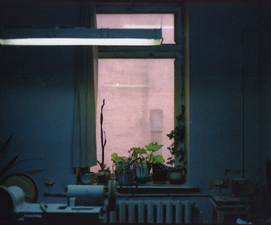 room, window, and grunge image