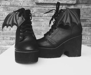 shoes, black, and bat image