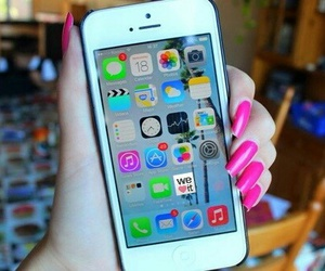 iphone, cool, and nails image