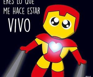 love, iron man, and amor image