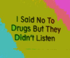 drugs and text image