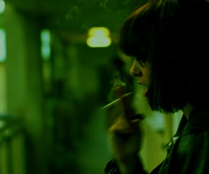 green, cigarette, and grunge image