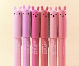 bunny, kawaii, and pink image