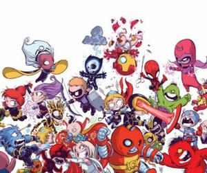 Marvel, Avengers, and x-men image