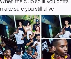 funny, club, and party image