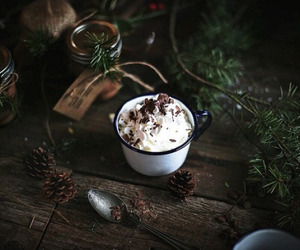 winter and hot ​chocolate image