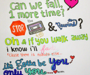 one direction, gotta be you, and song image