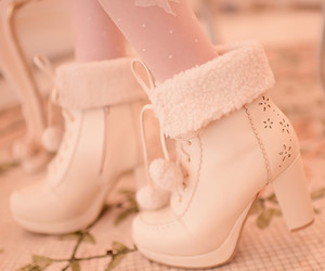 boots, hime, and gyaru image