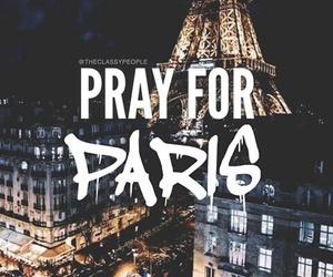 paris, pray, and prayforparis image