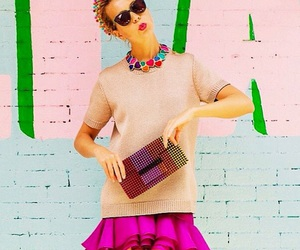 chic, colorful, and fashion image