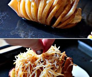 food, potato, and delicious image