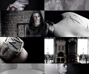 evil, the mortal instruments, and nephilim image