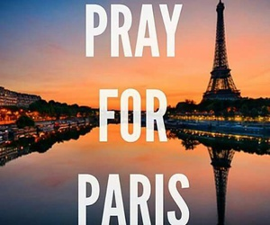 paris, pray for paris, and sad image