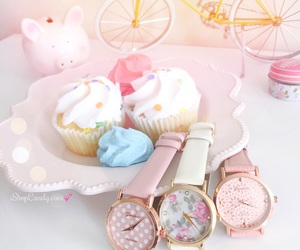 arm candy, cupcakes, and dainty image